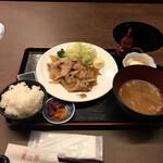 銀座しゃぶしゃぶ petit 羅豚 - 柚子胡椒焼き(税込み1100円)