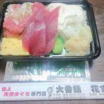 大番鮨 - 料理写真:ネギトロ山かけ重¥500