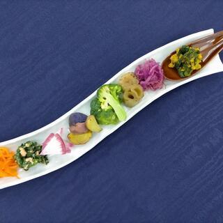 ●野菜をできるだけシンプルに調理