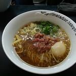 牛骨らぁ麺マタドール - 味玉醤油らぁ麺
