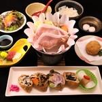 和食処 松屋 - プレミアム創作いなり寿司ランチ(冬)