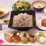 和食処 松屋 - プレミアム創作いなり寿司ランチ(夏)