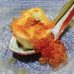 146635164 - ウニオンザ煮玉子