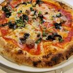 FORESTARIA - コースのピッツァ。もちもちで美味しい。