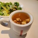 FORESTARIA - 海老のビスクスープみたいな味だけど、臭みが強かったです。