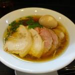 麺屋 中川會 - 特製醤油そば