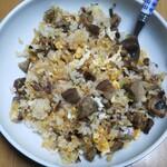 麺屋 青山 - ちゃーしゅー飯(焼き)を使ったチャーハン(自家製)