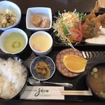 WIN-JIZO - 料理写真:アジフライ定食