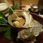 14665016 - 栄螺の壺焼き