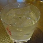14665319 - このグラスは、焼酎を呑むのに…使用中。(笑)