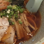 麺屋しぶ沫 - メンマはシンプルな味