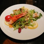 Kantonryouriminsei - 季節野菜のサラダ仕立て