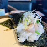 金沢まいもん寿司 - 590円:究極ノドグロ手巻き