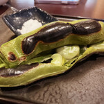 146658393 - そら豆は立派な大きさで、おかわりしました(*´▽`*)