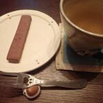 ハウスカ - 有機チョコレートのショートブレッドは、カ○リーメイトっぽいけど塩気もあっておいしいミャ