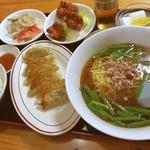 食味閣 - 焼餃子定食