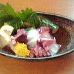 14666668 - 真蛸と胡瓜の酢の物680円也