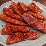 焼肉 三日月 - シンシン、ヒレ肉