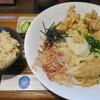 釜あげ饂飩 楽 - 料理写真:とり天ぶっかけ定食