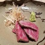 146669059 - 神戸牛イチボのたたき