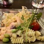 横須賀海軍カレー本舗 - ✨副菜②マカロニ豆✨
