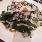 14668593 - 小松菜とベーコンのシーザーサラダ