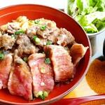 大田原 牛超 - レビューはオブラートに包んだ表現にしましたがステーキは、ほぼ脂身 ランチメニューってグランドメニューの来店に繋げる物だと思うのですが…
