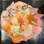 お食事 延仁 - ・海鮮丼 1,500円/税込