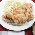 あつぎ食堂 - 料理写真:唐揚げ定食