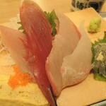 牧原鮮魚店 - 大振りの刺身