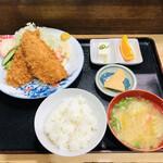 四十路 - アジフライ定食
