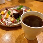 TASTY PLACE THE DINING - 【コーヒーとガトーショコラ】