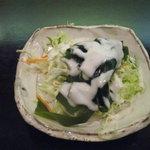 江戸前鮨 向志満 - 料理写真:ランチのサラダ