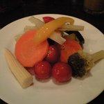 cafe ACHE pa'ti - いろいろ野菜のマリネ