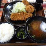 14670406 - ヒレカツ・ロースカツ盛合せ定食