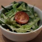 自然野菜レストラン 駒込 ナーリッシュ - ミニサラダ