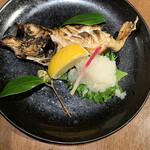 和食居酒屋 旬門 - ノドグロの焼き物は脂溢れ美味しい