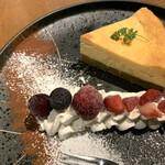 和食居酒屋 旬門 - チーズケーキ