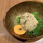 和食居酒屋 旬門 - 蟹味噌はボリュームたっぷり!食べ応え抜群!