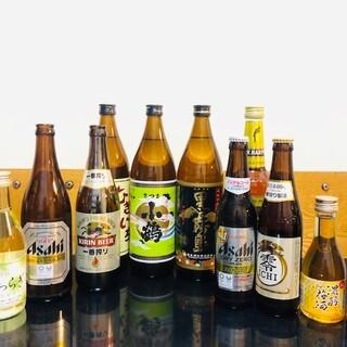 焼酎や日本酒など、ドリンクの種類も幅広くご用意しています