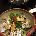 14671086 - 太刀魚入りのサラダ