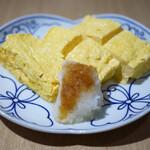 神宮の蕎麦 - だし巻き卵