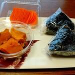 おにぎり 川井亭 - 料理写真:おにぎり&惣菜