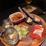 146732302 - 近江野菜をたっぷり使った前菜の盛り合わせ♡