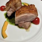 花様 - 近江牛に続いて、お次は近江鶏!!ジューシィで美味しかったです♡