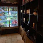 花様 - 奥の冷蔵庫にはお野菜がたーっぷり♡いいなぁ♡