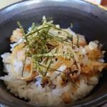 王子ラーメン - ミニネギチャーシュー丼