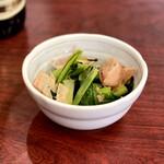 巣鴨ときわ食堂 - 小松菜のお浸し・250円