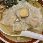 広州市場 - エビワンタン麺