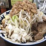 豪麺 マルコ - 特 小らーめん(730円) 細麺・全マシ